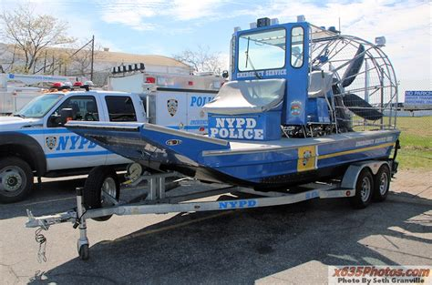 Police Airboat by Nypd Esu Airboat Nypd Esu Pinterest Police Cars