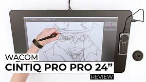 "Wacom Cintiq Pro 24"" - The BEST Drawing Experience ..."