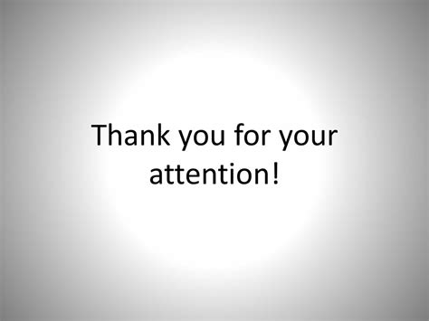 The Gallery For > Thank You For Your Attention Powerpoint