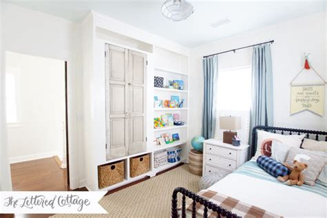Our Boys Bedroom  Before And After  The Lettered Cottage
