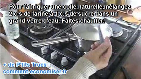 la recette toute simple de la colle faite maison
