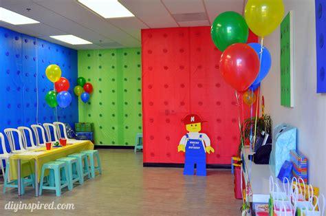 Lego Birthday Party-diy Inspired