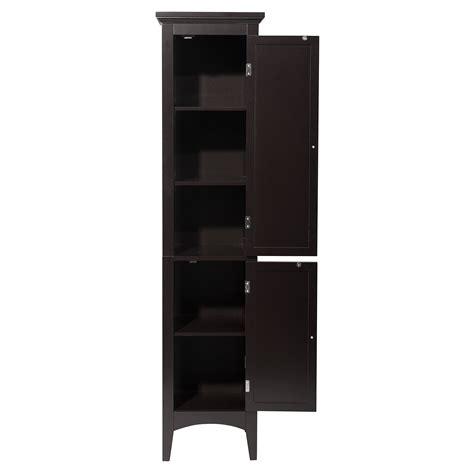 bathroom storage cabinet tower toiletry linen closet shelf towel stand organizer ebay