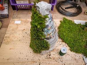 Mit Moos Basteln : moosbaum basteln und dekorieren ~ Whattoseeinmadrid.com Haus und Dekorationen