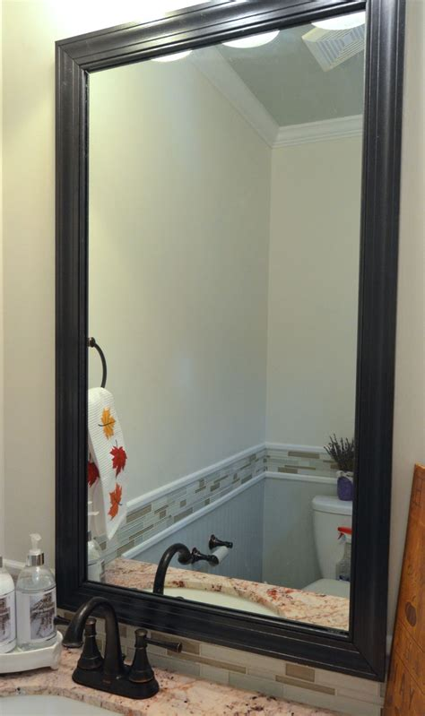 How To Frame A Mirror With Clips In 5 Easy Steps. Blue Bathroom Ideas. Arts And Crafts Homes. Ceiling Fans 72 Inch. Grandma's Garden. Currey And Company Chandeliers. Outdoor Coffee Table. Lantern Backsplash. Barber Cabinets
