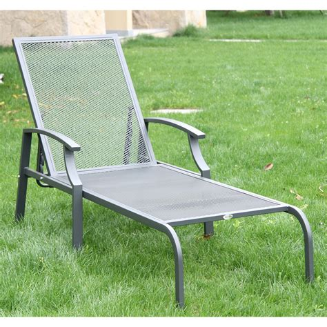 Outsunny Patio Furniture by Outsunny Outdoor Lounge Chaise Chair Recliner Garden Patio
