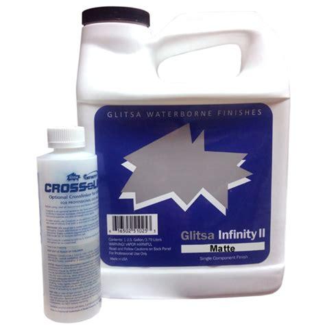 glitsa waterborne glitsa infinity ii matte finish c16241 1 gal a american custom flooring