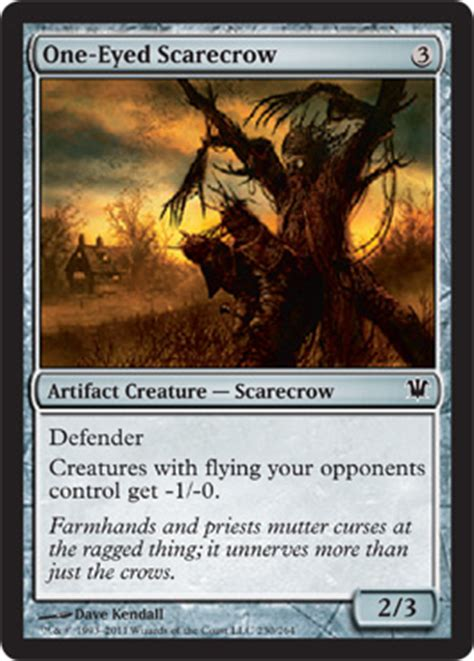 one eyed scarecrow from innistrad spoiler