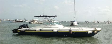Motorboat Hindi by Gulf Craft 31 Sooly Used Speed Boat For Sale In India