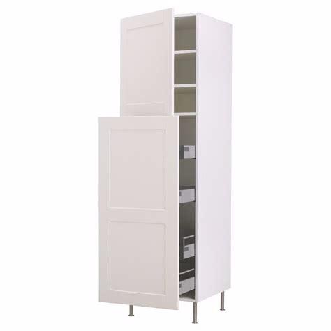 ikea free standing kitchen pantry white cabinet