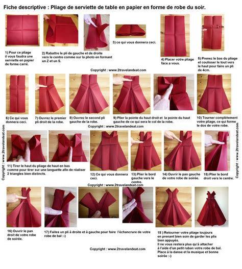 17 best images about pliage serviette on mesas origami and paper