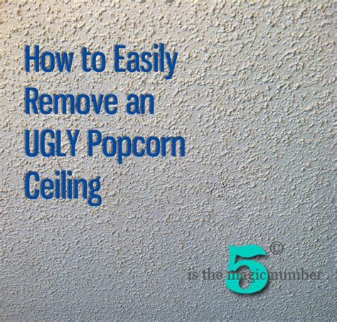 17 best images about removing popcorn ceiling on water spots drywall and the magic