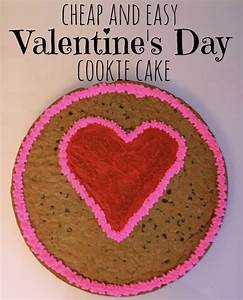 Cheap and Easy Valentine's Day Cookie Cake - Houston Mommy ...