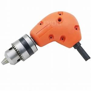 Angle Adaptor 90 DEGREE Right Angle Drill Attachment 3/8 ...