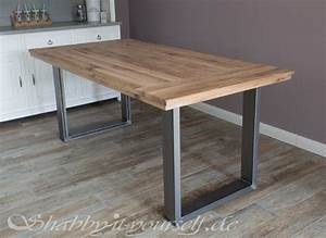 Tisch Selber Machen : einen rustikalen loft tisch selber bauen so geht 39 s ~ Markanthonyermac.com Haus und Dekorationen