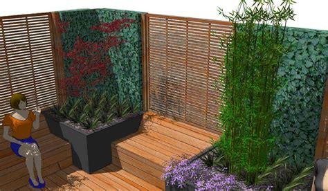 Sichtschutz Terrasse Modern