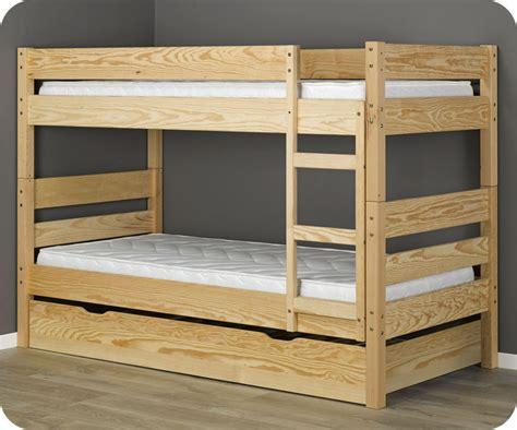 lit superpos 233 enfant 1 2 3 brut 224 peindre 90x190 cm avec 2 matelas