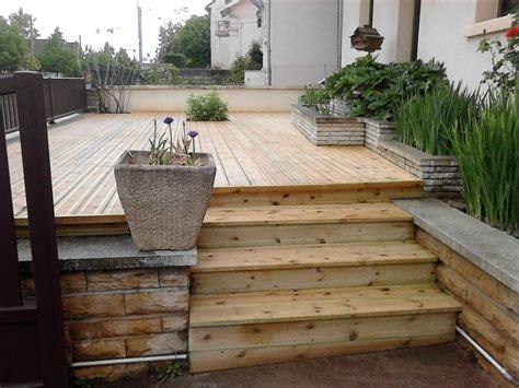 realisation d une terrasse bois 3