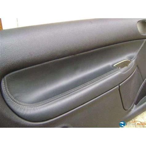 panneau interieur cuir noir peugeot 206 cc