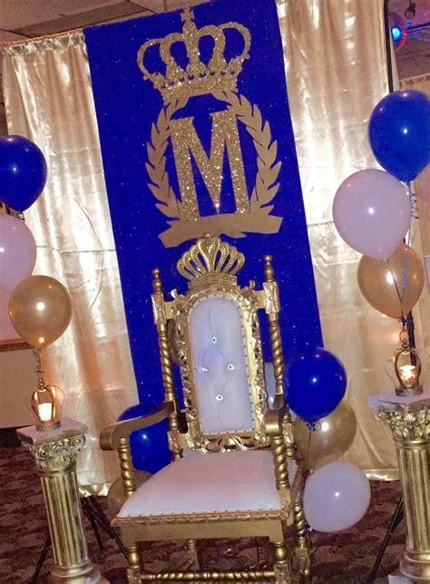 Royal Prince Birthday Party Ideas  Prince Birthday Party