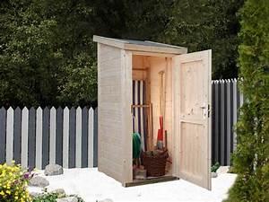 Gerätehaus Holz Klein : der ger teschrank wenig fl che mit ganz viel stauraum ~ Markanthonyermac.com Haus und Dekorationen