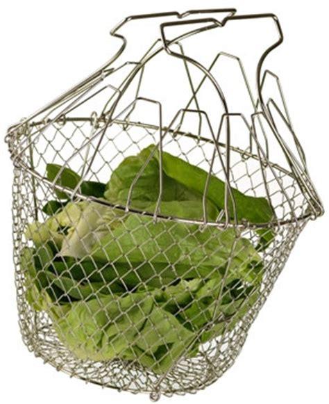panier 224 salade inox pliant essorage manuel cuisin store