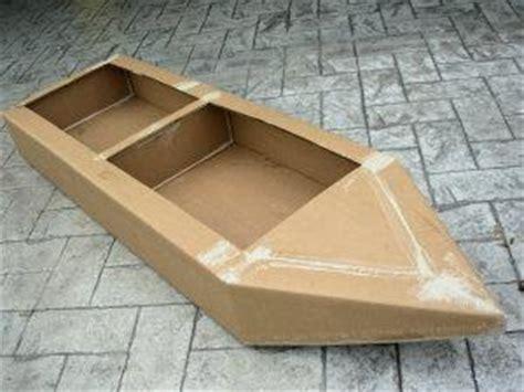 Easy Cardboard Boat Making by Summer C Rock Paper Scissors Design Dazzle