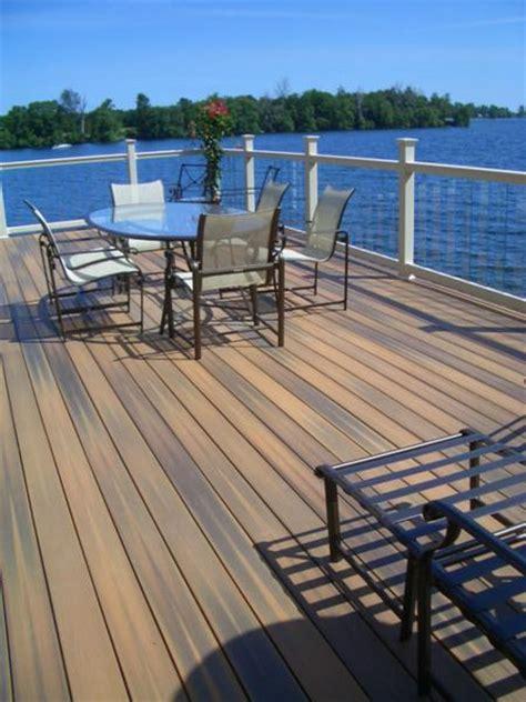decking materials certainteed decking materials