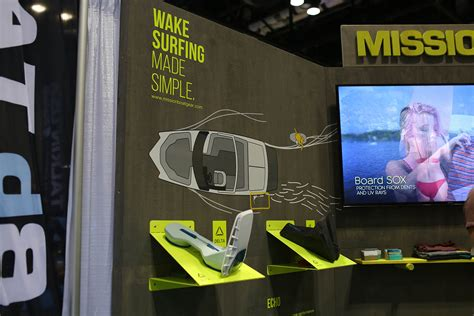 Wake Boat Gear by Surf Expo Mission Boat Gear 2019 Alliance Wakeboard