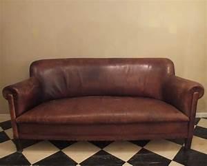 Big Sofa Vintage : large vintage leather sofa chairs ~ Markanthonyermac.com Haus und Dekorationen
