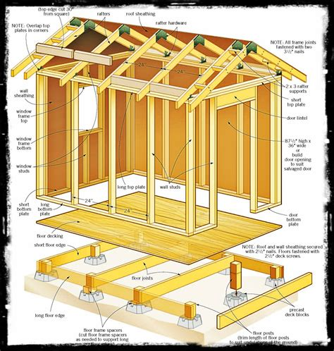 4 x 8 wooden storage shed february 2015 shed plans for free