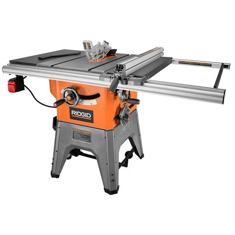 ridgid 10 inch 13 cast iron table saw the home