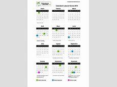 Calendario Laboral Girona 2019