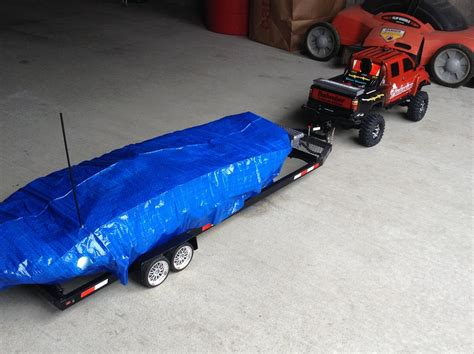 Toy Fishing Boat And Trailer by Toy Trucks And Trailers With Boats 1 20 Pick Up Truck