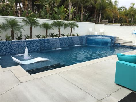 Contemporary Pool Designs Tempting Contemporary Swimming