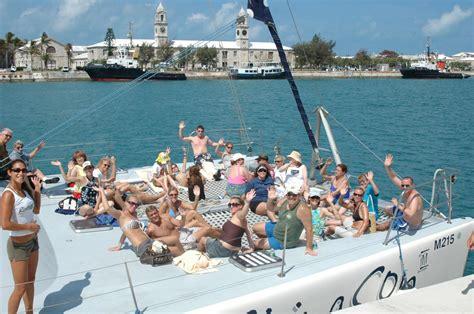 Catamaran In Bermuda by Shore Excursion Ultimate Catamaran Sail Snorkel Swim