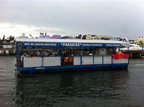 Boat Parties Near Me by Party Barge Lake Conroe Waterpoint Marina