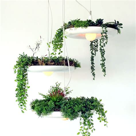 Hanging Pot Plant Lamp Droplight Fixture Pendant Ceiling