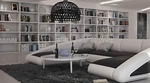 Sofa In U Form : wohnlandschaft nassau u form ledersofa design couch polstersofa ~ Markanthonyermac.com Haus und Dekorationen