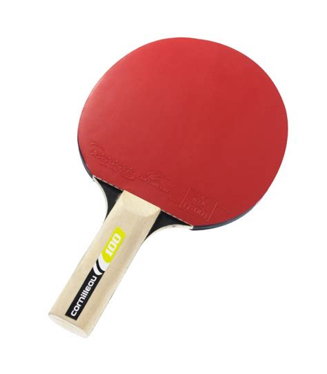 cornilleau sport 100 raquette ping pong silver equipment