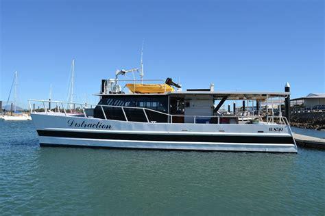 Used Power Catamaran Fishing Boats by Custom Design And Built 52ft Alloy Power Catamaran Power