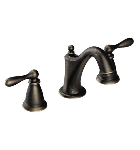 moen ca84440brb caldwell 4 or 8 two handle high arc