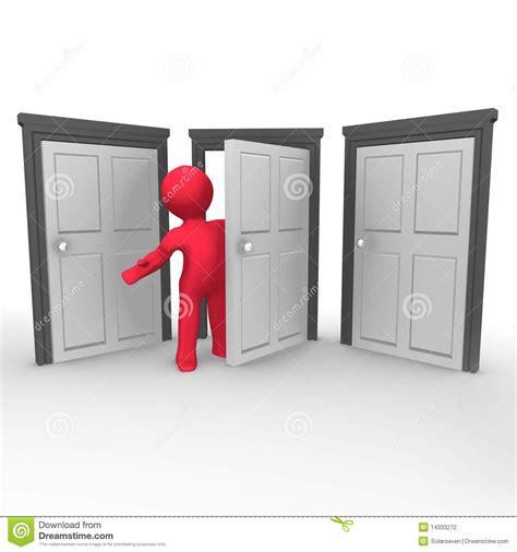 la porte ouverte photographie stock image 14333272