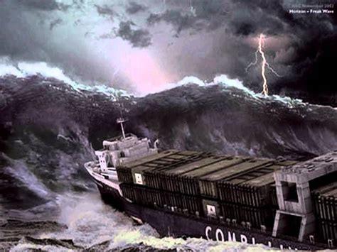 Dibujo Barco En Tormenta by Barcos Y La Mar Youtube