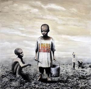 "Banksy- I Hate Mondays 24""x24"" - Graffiti street art | eBay"