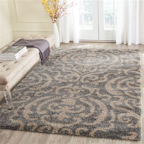 Safavieh Florida Shag Graybeige 9 Ft X 12 Ft Area Rug. Narrow French Doors. Carrara White Marble. Rattan Bar Stool. New Kitchen Ideas. Is Asphalt Cheaper Than Concrete. Rustic Vanity Table. Tufted Sofas. Cabinet Factory Outlet