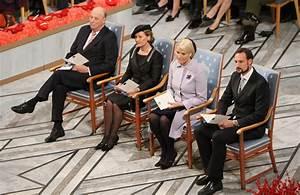 Crown Prince Haakon Of Norway in Nobel Peace Prize ...