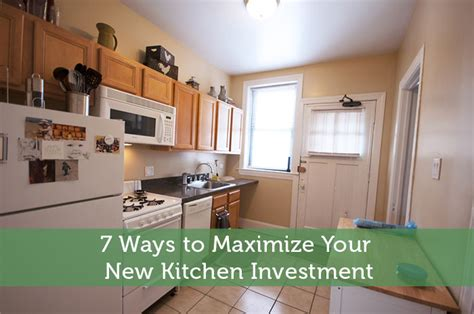 7 Ways To Maximize Your New Kitchen Investment  Modest Money