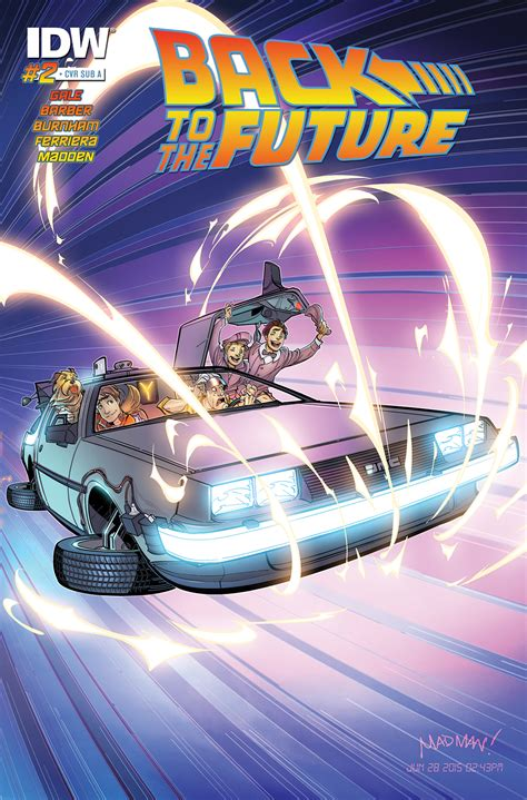Back To The Future #2  Idw Publishing