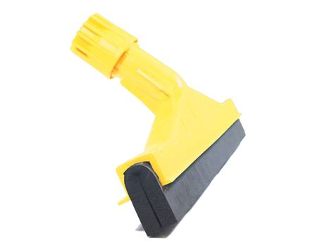 45cm 18 industrial yellow coloured plastic squeegee onlymanufacturer industrial cleaning